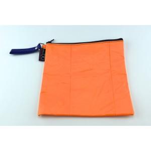 Riri L orange blue zip
